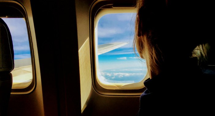 Window seats offer better conditions to sleep.