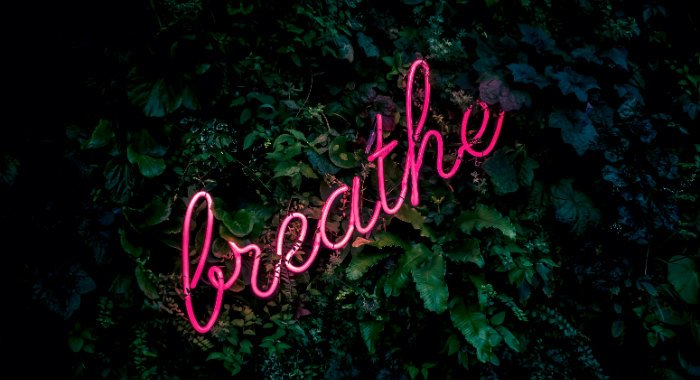 Breathing with the 4-8-7 method might help you falling asleep.