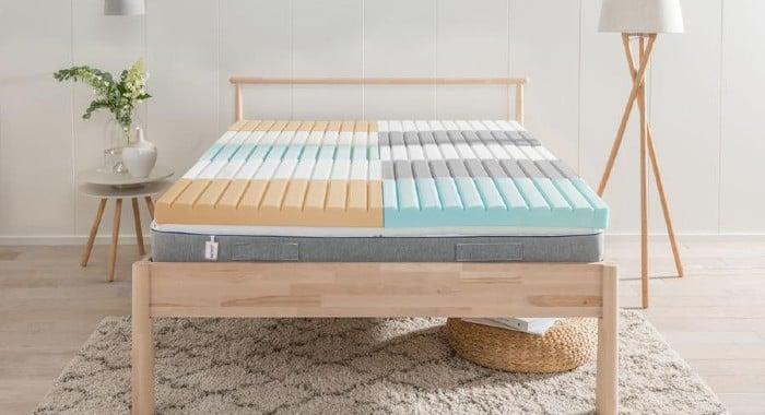 Inside an Nrem mattress
