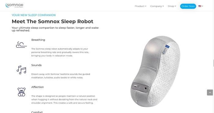 Somnox Uses