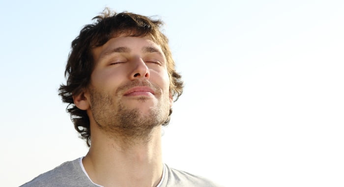 Deep breathing exercises might help you fight your sleep anxiety disorder.