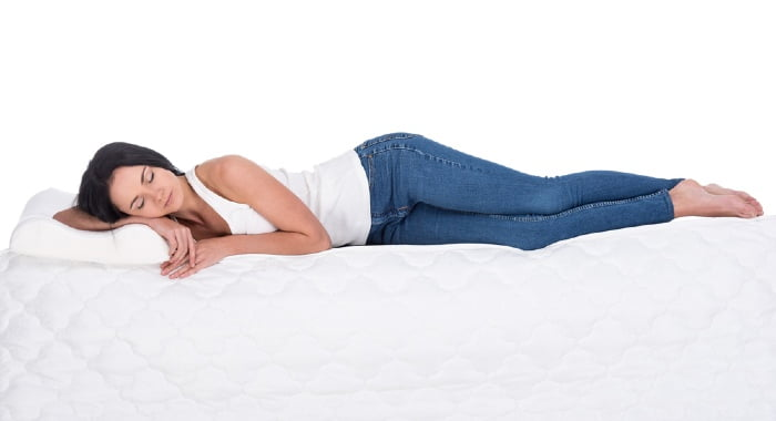Orthopaedic mattresses improve your posture while sleeping as they are the firmest.