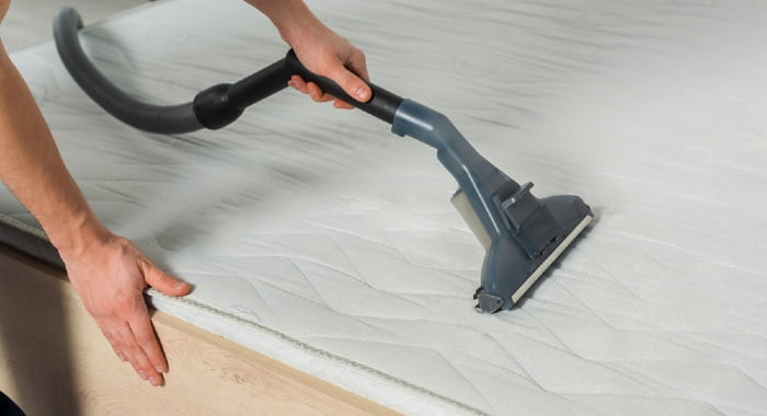 "Forget the idea of cleaning a mattress when you see it dirty. Keep in mind a ""twice a year"" target!"