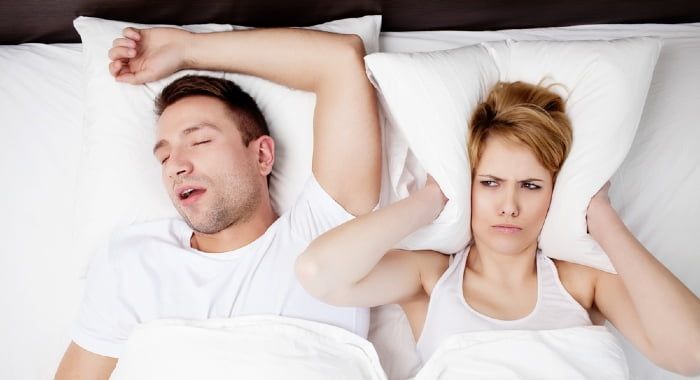 Sleeping on your back can help your sciatica but it will make your snoring worse.