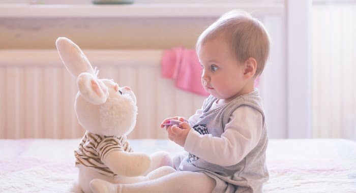 When your baby turns 6 months old he might suffer another sleep regression as the baby starts preparing to crawl.