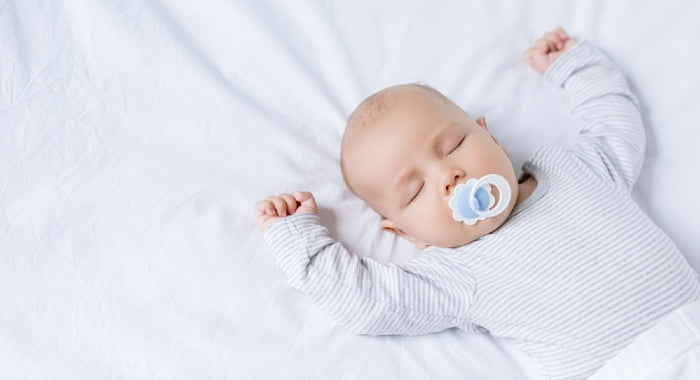 In general, babies need to sleep more than half the day for their first two years.