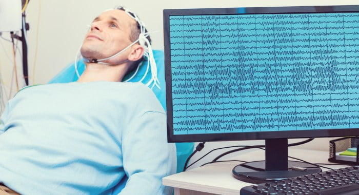 There are the delta, theta, alpha, beta and gamma brainwaves.