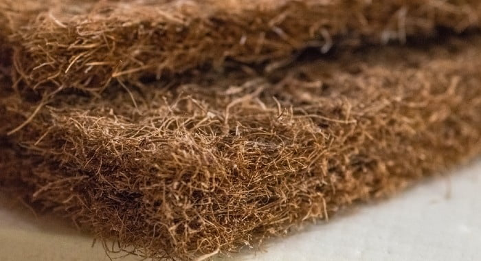 Coconut fibre was one of the most popular mattress fillings in the 18th century.